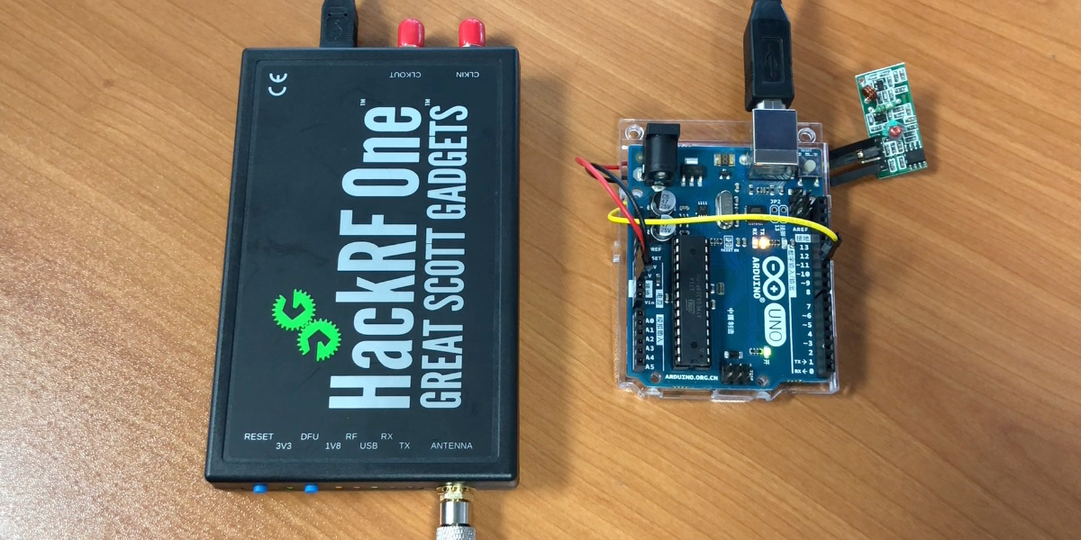 HackRF One을 활용한 RF 433MHz 해킹